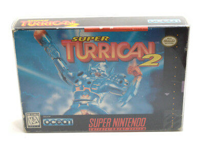 Super Turrican 2 For The Super Nintendo Entertainment System In Box! Tested!