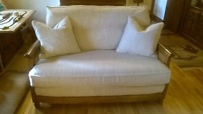 Ercol Cushions and covers for a 2 seater Bergere settee