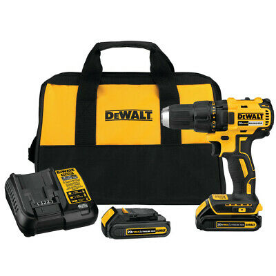 DEWALT 20V MAX Li-Ion Compact Brushless Drill Driver Kit DCD777C2 Recon