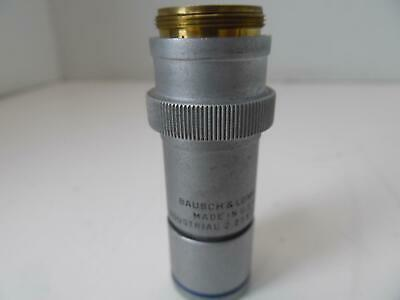 Bausch & Lomb 2.25 X 0.04 Na Industrial Microscope Objective