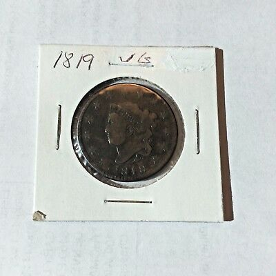 1819 VG Large Cent