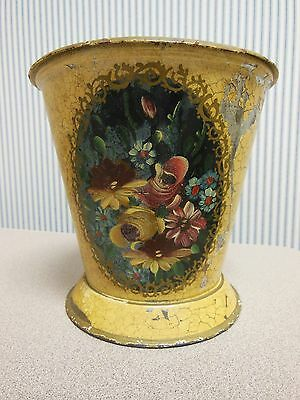 Antique French Toleware Tin Made In France