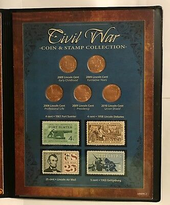 Civil War Coin & Stamp Collection & New York Times April 4Th, 1865 Newspaper