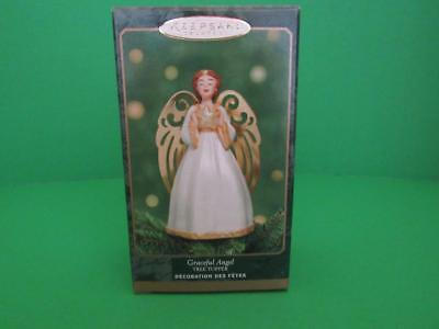 "Hallmark Keepsake Ornament ""Graceful Angel"" Tree Topper for Miniature Tree 2001"