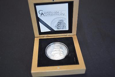 2016 Cook Islands $5 Five Dollar Proof Coin 1 Troy Ounce .999 Fine Silver