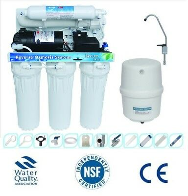 Domestic  Reverse Osmosis water purification filter system Fluoride Removal