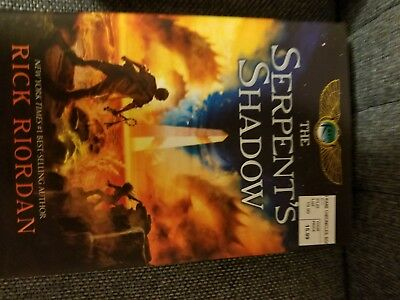 The Serpent's Shadow by Rick Riordan (2012, Hardcover)