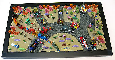 WACKY RACES & Full Set CAMEL TRAIN R & L + Zoo Choo Train DIORAMA
