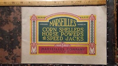 "antique 1913 John Deere Marseilles 10"" catalogue #45"