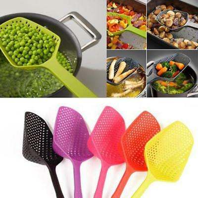Large Scoop Colander Pasta Heat Resistant Strainer Kitchenware Kitchen Tools #WW
