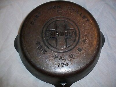 Griswold cast iron frying pan
