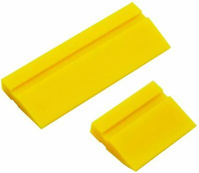 """Rubber Turbo Squeegee 4""""+ 2"""" Blade for Window Tint Film Tool 2 size Home Clean"""