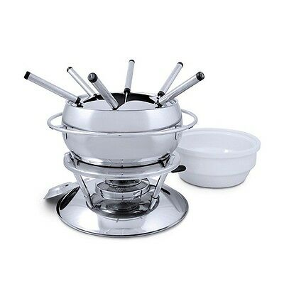 NEW Swissmar Zuri 11pc Fondue Set Stainless Steel. Great Price! RRP$289.00