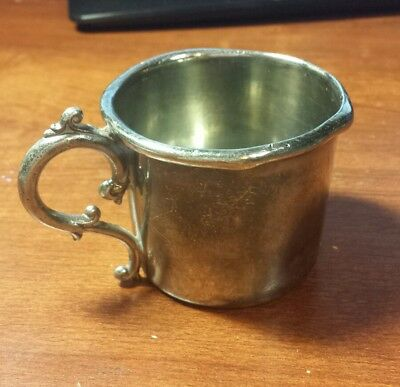 Richfield Plate Co Silver Baby Cup