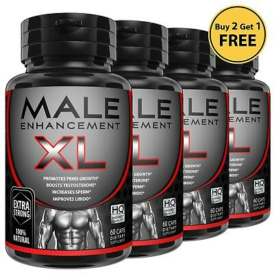 Male Enhancement Penis Enlarger Sexual Performance Libido Natural Growth Pills