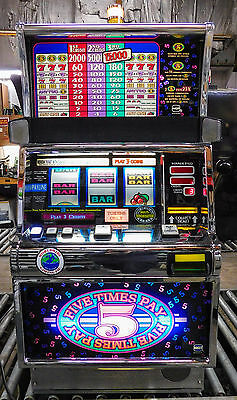 Igt S-2000 Reel Slot Machine: Five Times Pay                   **free Shipping**