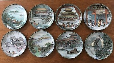IMPERIAL JINGDEZHEN PORCELAIN PLATE SET #1-7 Scenes From Summer Palace