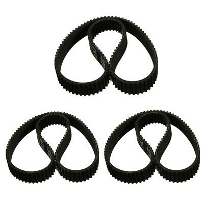 20x(3x Toothed belt V-belt Toothed belt 12x384mm for electric scooter E6N4