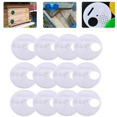 5pcs White Beekeepers Bee hive Nuc box Entrance Gate Beekeeping Equipment KK