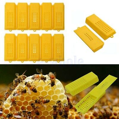 10X apiculteur Queen Bee Cage Traveling Moving Catcher Outil apiculture chaud KK