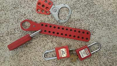 Lock out Tags with Keys, $10 AS IS