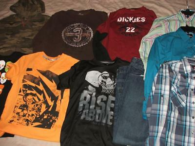 Boys Fall Winter Clothing Lot Size 14 16 14-16 Euc