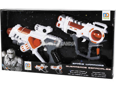Set Espacial 2 Pistolas