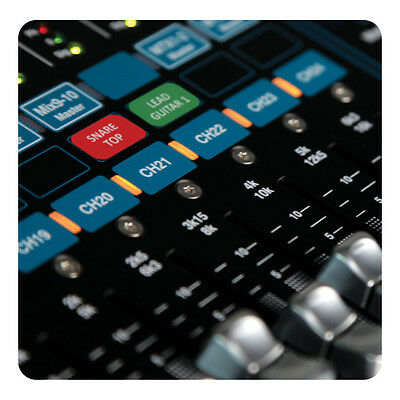 Magnetic Labels for Allen & Heath Qu-16/24/32 mixers