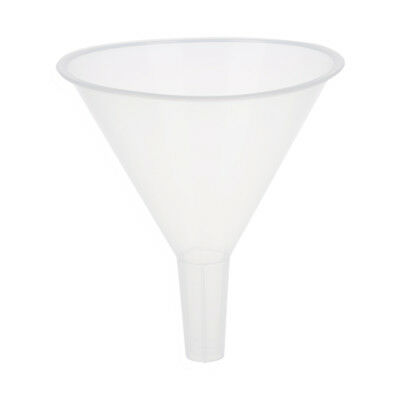 20x(120ml 4 9/10 Mouth Dia Laboratory Clear White Plastic Filter Funnel C7R3