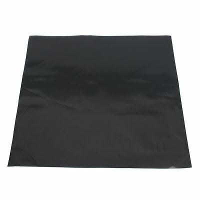 12''X12'' 1MM Black Silicone Rubber Sheet Self Adhesive High Temp Plate Mat
