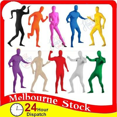 Adult Men Women Spandex Full Body Suit Costume Zentai Morph Invisible Morphsuit