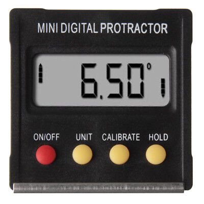 20x(Portable Digital Protractor Angle Finder Level Inclinometer Magnetic 0~360 X