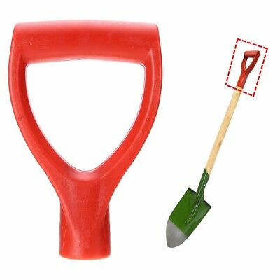 32MM Plastic Scoop Poly D-Grip Handle Lawn Farm Snow Removal Spade Fork Shovel