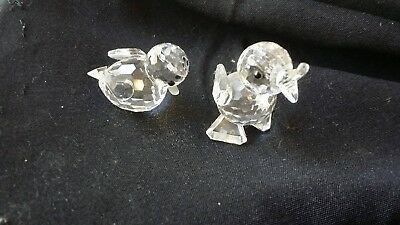 Swarovski crystal figureines - DUCKS - Melb Pickup avail
