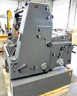 Offsetdruckmaschine HEIDELBERG GTO 52 | Offset printing press | printing machine