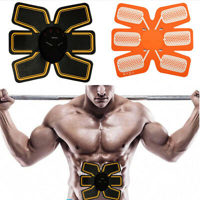 EMS Remote Control Abdominal Muscle Trainer Smart Body Building Fitness ABS AU