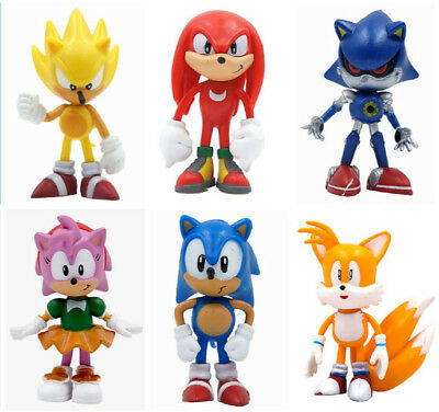 Sonic the Hedgehog Anime Game Mini Figure Collectibles