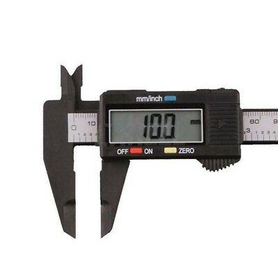 150mm 6inch Digital LCD Electronic Carbon Fiber Vernier Caliper Gauge Micrometer