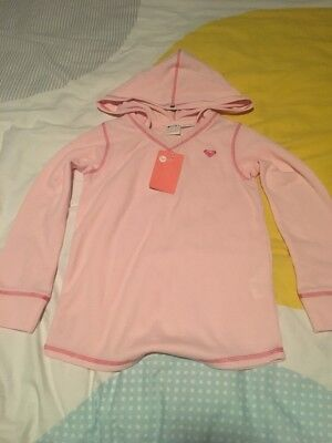 Roxy Girls Light Weight Hoodie Size 8 BNWT