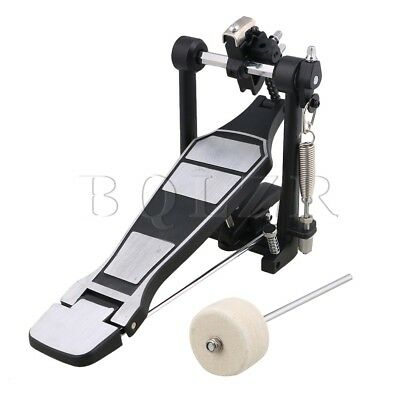 BQLZR Black Aluminum Alloy Adult Rack Drums Parts Drum Pedal and Drumstick
