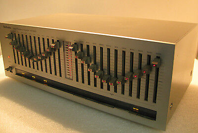 Vintage Technics Stereo Graphic Equalizer