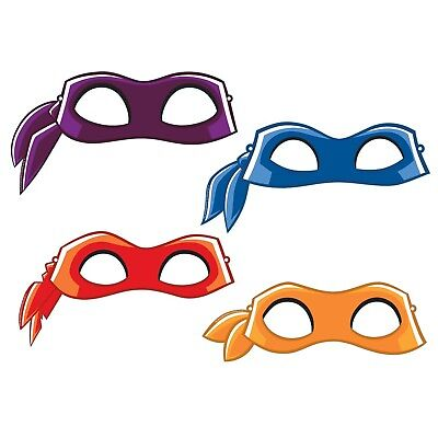 Teenage Mutant Ninja Turtles | TMNT Card Party Eye Mask | Favours 1-48pk