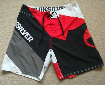 Men's Quicksilver Swim Shorts Waist 30""