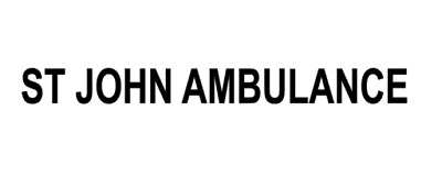 ST JOHN AMBULANCE sticker medical RESCUE first aid event car sign