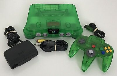 Nintendo 64 Console Limited Edition Purple Complete Pal ...