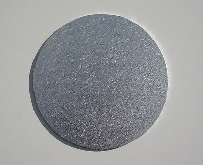 "Silver Round 7"" MDF Cake Board - cake decorating"