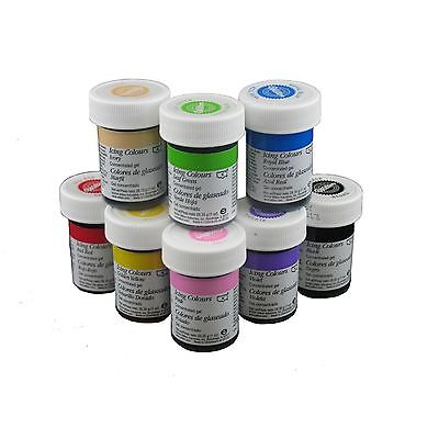 Wilton ICING COLOUR Gel Paste 28g (1 oz) - cake decorating, fondant, buttercream