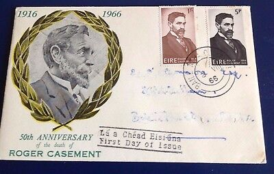 Ireland Roger Casement 1966 First Day Cover
