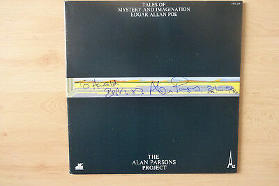 "The Alan Parsons Project Autogramm signed LP-Cover Vinyl ""Tales Of Mystery..."""