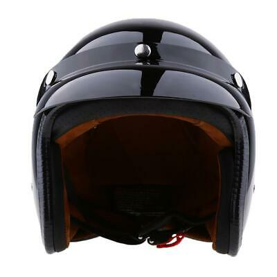 casque de moto homologu bol retro vintage face ouverte avec pare soleil eur 31 92 picclick fr. Black Bedroom Furniture Sets. Home Design Ideas